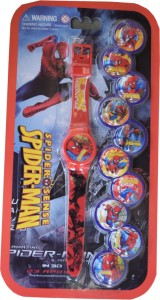 Creator Spider man ( 10 Attachable Dial) Analog Watch  - For Boys & Girls