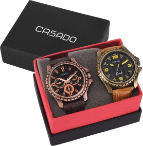 Casado 720and135 Combo of 2 Latest Edition Series Analog Watch  - For Men