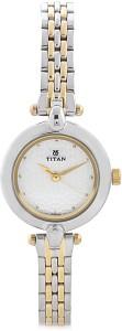 Titan NH2521BM01C Karishma Analog Watch  - For Women