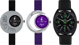 Frida Designer VOLGA Beautiful New Branded Type Watches Men and Women Combo308 VOLGA Band Analog Watch  - For Couple