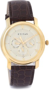 Titan NF1618YL01 Analog Watch  - For Men