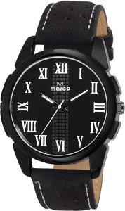 Marco ELEGANT MR-GR3124-BLK-BLK Analog Watch  - For Men
