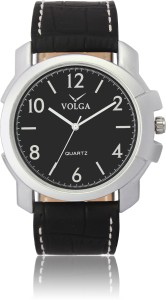 Volga VLW050035 Proffessional Leather belt With Designer Stylish Branded Fancy box Analog Watch  - For Men