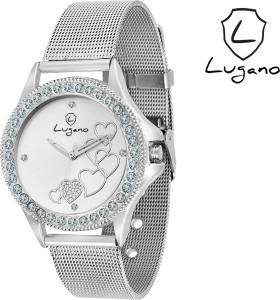 Lugano DE2022LG Analog Watch  - For Women