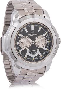 Dezine DZ-GR040-BLK-CH Analog Watch  - For Men