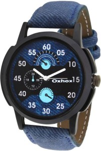 Oxhox OX1005 Blue Analog Analog Watch  - For Boys