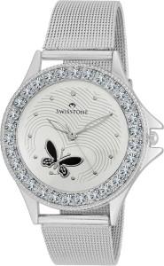 Swisstone VOGLR501-WHITE-CH Analog Watch  - For Women