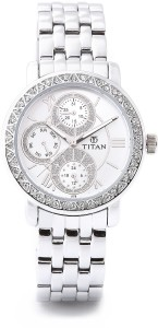 Titan NF9743SM01 Analog Watch  - For Women