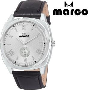 Marco chronograph mr-gr 2003-slv-blk Analog Watch  - For Men