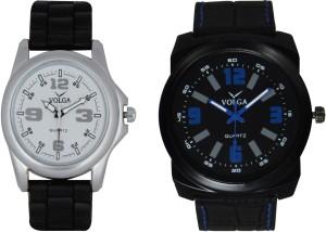 Volga Branded Leather Quality Designer Dial Diwali Special Combo25 Designer Sport Looks WaterProof Mens Watch Analog Watch  - For Men