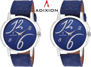 Adixion 1015SLB4B4 New Combo Leather Strep Watches Analog Watch  - For Men & Women