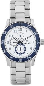 Titan 1632SM01 Octane Analog Watch  - For Men