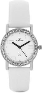 Maxima 27120LMLI Swarovski Analog Watch  - For Women