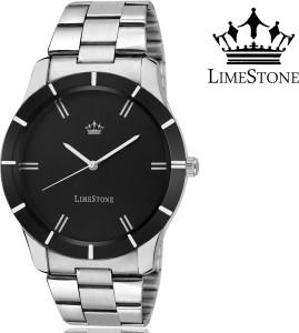 LimeStone LS2607 Black Wolf Analog Watch  - For Men
