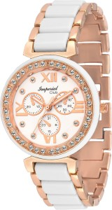 Imperial Club wtw-017 Chrono Look Rose Gold Authentic Design Analog Watch  - For Women