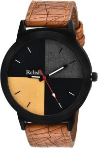 Relish RE-014BT TAN Analog Watch  - For Men