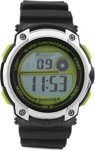 Sonata NH77005PP01 Digital Watch  - For Men