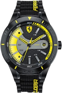 Scuderia Ferrari 0830266 Red Rev Evo Watch  - For Men