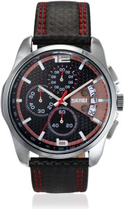 Skmei 9106CL-Red Formal Analog Watch  - For Men