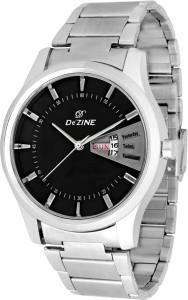 Dezine DZ-GR251-BLK-CH Vox Analog Watch  - For Men
