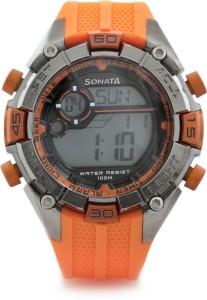 Sonata NG77026PP03J Superfibre Digital Watch  - For Women