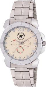 Pittsburgh Polo Club PBPC-539-SS-SIL Analog Watch  - For Men