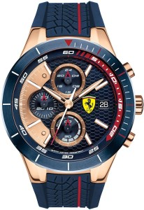Scuderia Ferrari 0830297 Red Rev Evo Analog Watch  - For Men