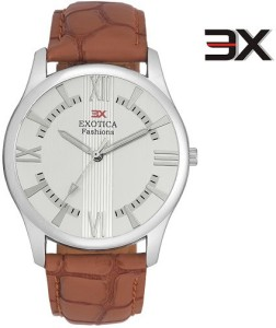 Exotica Fashions EFGM-22-Light-Brown-NS New Series Analog Watch  - For Men