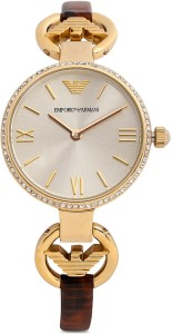 6e6dc09ccfb3 Emporio Armani AR1885 Gianni T B Analog Watch For Women End of ...
