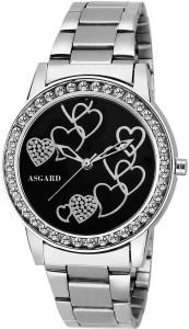Asgard Silver Chain Decent Analog Watch  - For Girls