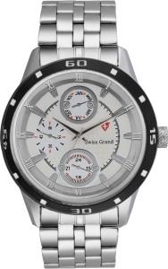 Swiss Grand Sg-0205_white Grand Analog Watch  - For Men