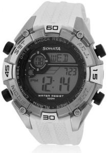 SF NG77026PP02J Digital Watch  - For Men