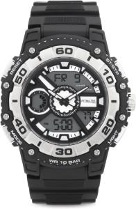 Q&Q DE10J301Y Analog-Digital Watch  - For Men