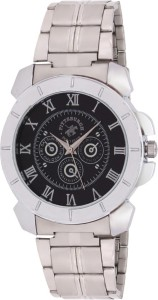 Pittsburgh Polo Club PBPC-540-SS-BLK Analog Watch  - For Men