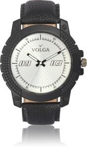 Volga VLW050038 Sports Leather belt Branded Men Sport Analog Watch  - For Men