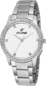 Dezine DZ-LR2012-WHT Jewel Analog Watch  - For Women