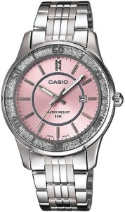 Casio A805 Enticer Ladies Analog Watch  - For Women
