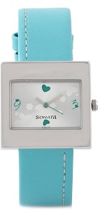 Sonata NG8965SL01AC Yuva Analog Watch  - For Women