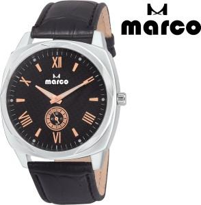 Marco chronograph mr-gr 2003-blkgld-blk Analog Watch  - For Men