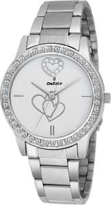 Dazzle DZ-LR2014-WHT Jewel Analog Watch  - For Women