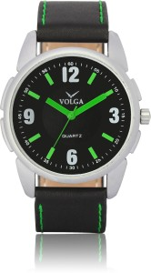 Volga VLW050026 Sports Leather belt Designer Mens Analog Watch  - For Men