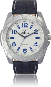 Volga VLW050024 Casual Leather belt With Designer Stylish Branded Fancy box Analog Watch  - For Men