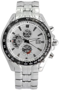 Dazzle GENTS CURION011-WHITE-STEEL Analog Watch  - For Boys