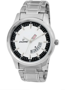 Dezine DZ-GR1000-WHT-CH Analog Watch  - For Men