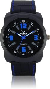 Volga VLW050032 Sports Leather belt With Designer Stylish Branded Analog Watch  - For Men