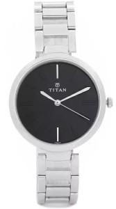 Titan NF2480SM02/NE2480SM02 Purple Analog Watch  - For Women