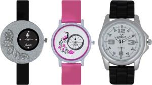 Frida Designer VOLGA Beautiful New Branded Type Watches Men and Women Combo260 VOLGA Band Analog Watch  - For Couple