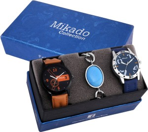 Mikado Daniel men's watch combo set Analog Watch  - For Boys