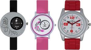 Frida Designer VOLGA Beautiful New Branded Type Watches Men and Women Combo262 VOLGA Band Analog Watch  - For Couple