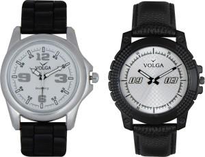 Volga Branded Leather Quality Designer Dial Diwali Special Combo31 Designer Sport Looks WaterProof Mens Watch Analog Watch  - For Men